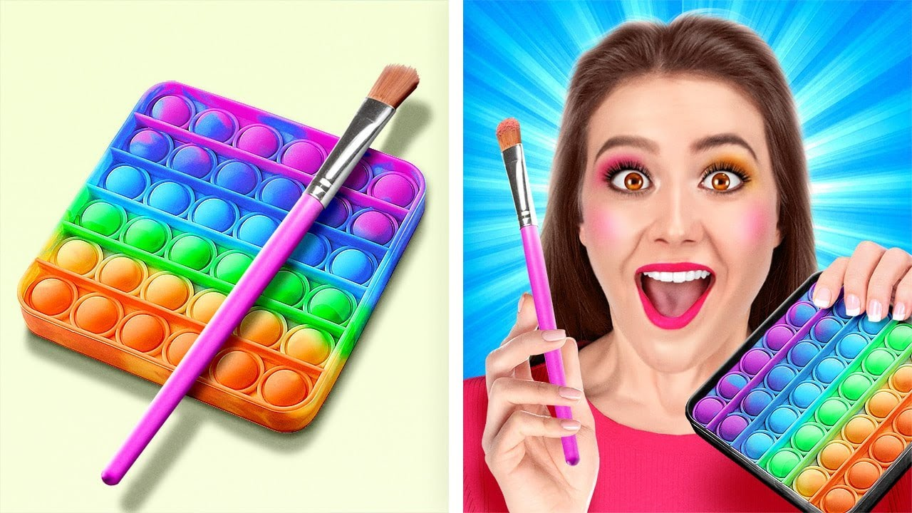 AWESOME SCHOOL BEAUTY HACKS || Girly Tips And Tricks by 123 Go! Live