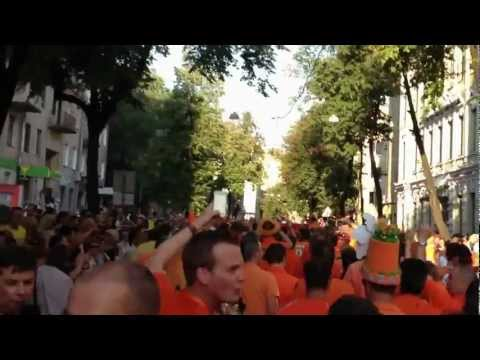 Oranje Parade in Kharkov during EURO 2012 with DAXX IT Staffing