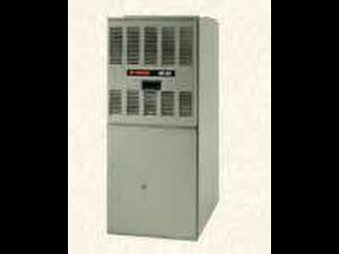 How to light a pilot light on a gas furnace. - YouTube