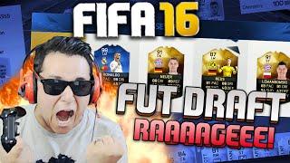 PERDI O GOL MAIS FEITO DO ANO!!!?! RAGEEE!! FIFA 16 FUT DRAFT MONSTRÃO !