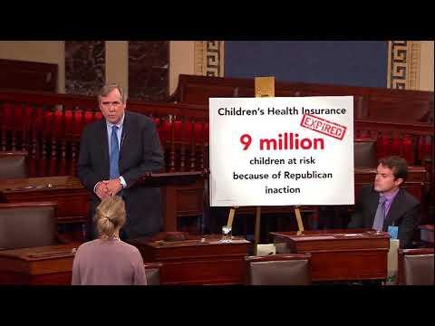 Senator Merkley Calls for Immediate Action to Restore CHIP Funding