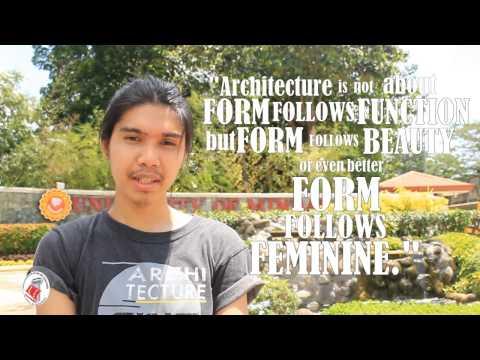 Why We Choose Architecture: University of Mindanao CAFAE (Promotional Video)