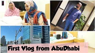 First Vlog from AbuDhabi / Day in My Life tamil / Zulfia's Recipes / tamil vlog