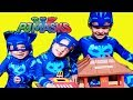 PJ Masks 3 Catboys TROUBLE with Littlest Catboy Missing Catboy Superhero Episode