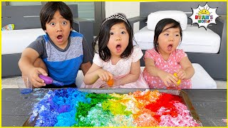 Easy DIY Science Experiments for kids to do at home 1hr learning!!!