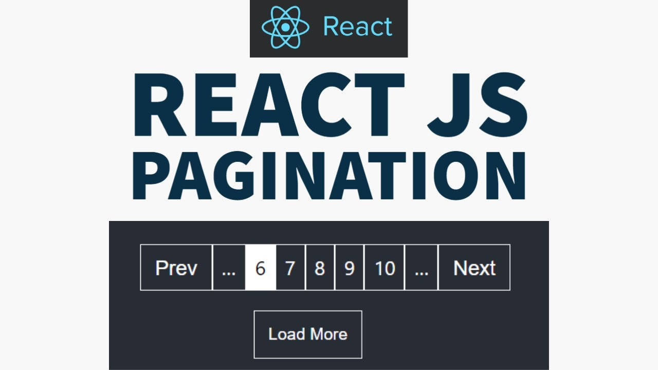Build Pagination in React using React Hooks