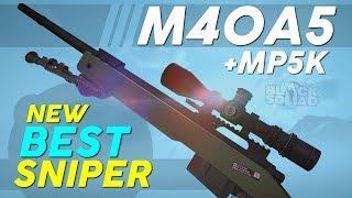 NEW BEST SNIPER! - M40A5 / MP5K Gameplay (Black Squad)