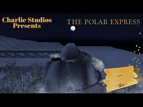 Trainz - The Polar Express Movie, A Journey to the North Pole.