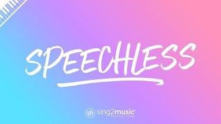 Speechless (Piano Karaoke Instrumental) Naomi Scott