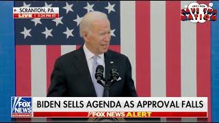 Joe Biden Stumbling And Bumbling Again!