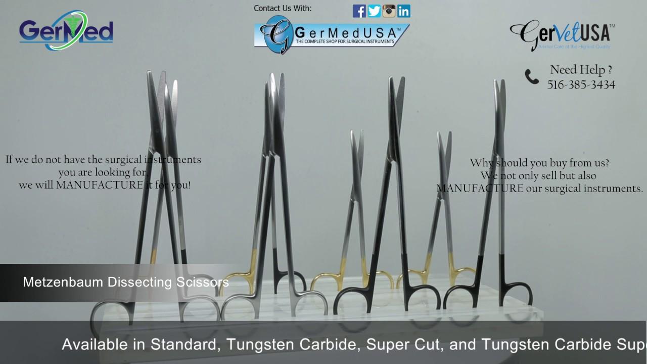 Metzenbaum Dissecting Scissors -General - Veterinary Surgical Equipment