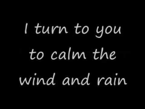 """Richie Mcdonald """" I turn to you"""" ( lyrics)"""