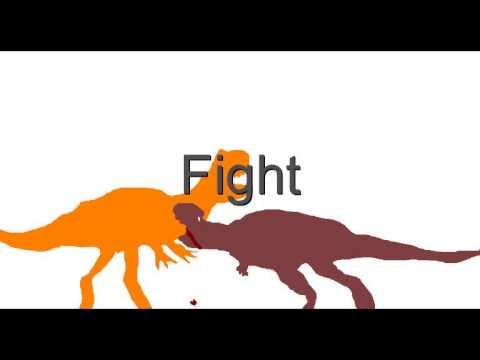 MDF-Ekrixinatosaurus vs Sauropelta