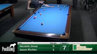 2018 US Amateur Championship - Hendrik Drost VS Jason Richko