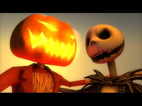 This is Halloween (3D HYBRID Minecraft Animation) Nightmare Before Christmas Cover -  This is Halloween (3D HYBRID Minecraft Animation) Nightmare Before Christmas Cover
