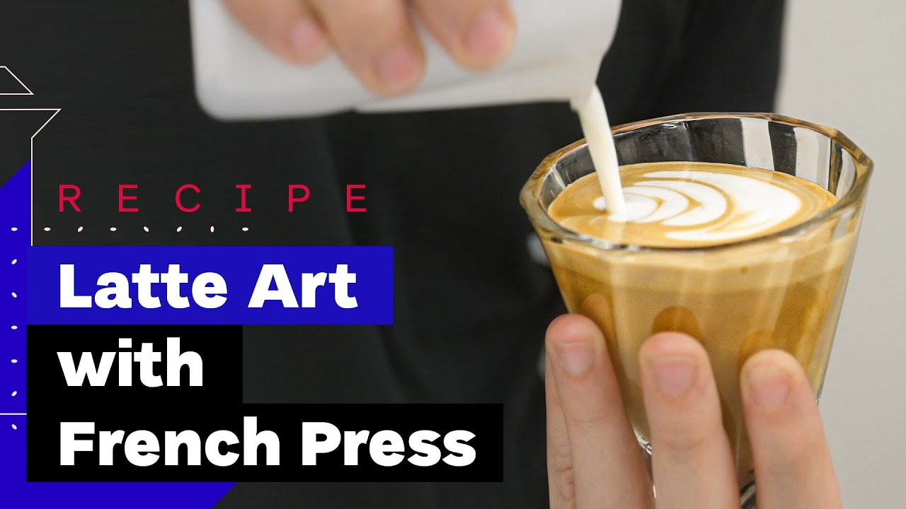 How To Make Cappuccino At Home (with French Press)