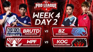 RoV Pro League Season 4 | Week 4 Day 2