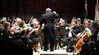 Brahms: Hungarian Dance No.6: Victoria Youth Orchestra: János Sándor