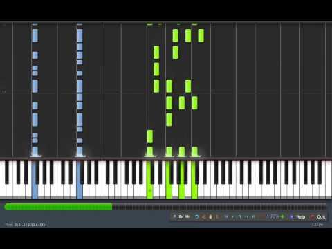 Super Mario Galaxy - Battlerock [Synthesia Piano]