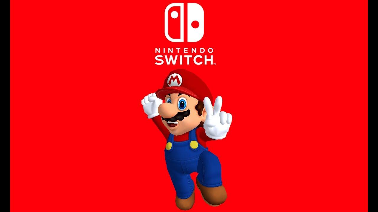 Celebrating the reveal of nintendo switch super mario for Housse nintendo switch mario