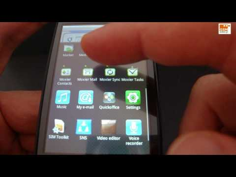 LG GW620 - menu, usługi - GSMonline.pl