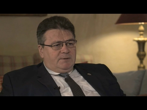 Interview: Lithuanian FM on future of China's role in Europe
