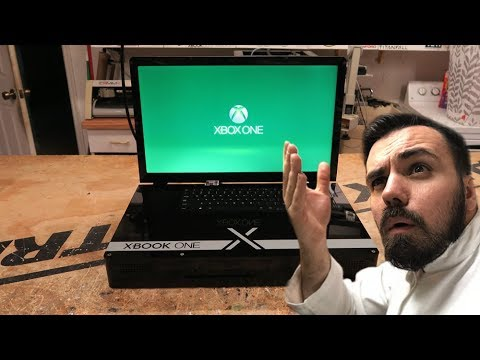 doc reagiert auf den xbook one x laptop xbox one x als. Black Bedroom Furniture Sets. Home Design Ideas