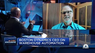 Boston Dynamics CEO on new robot 'Stretch'