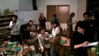 WWF2011 打ち上げ 1/4