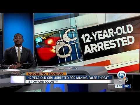 Super Martinez - Niña de 12 años de Broward Arrestada Luego de Amenaza en Snapchat