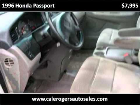 Rogers Auto Sales >> 1996 Honda Passport Available From Cale Rogers Auto Sales