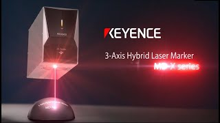 Laser Marking - KEYENCE MD-X Series Laser Marker
