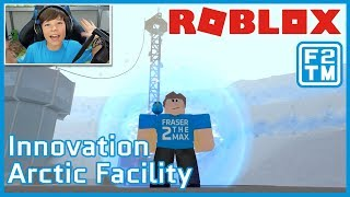 Roblox Innovation Arctic Facility | Fraser2TheMax | Roblox Kid Gaming
