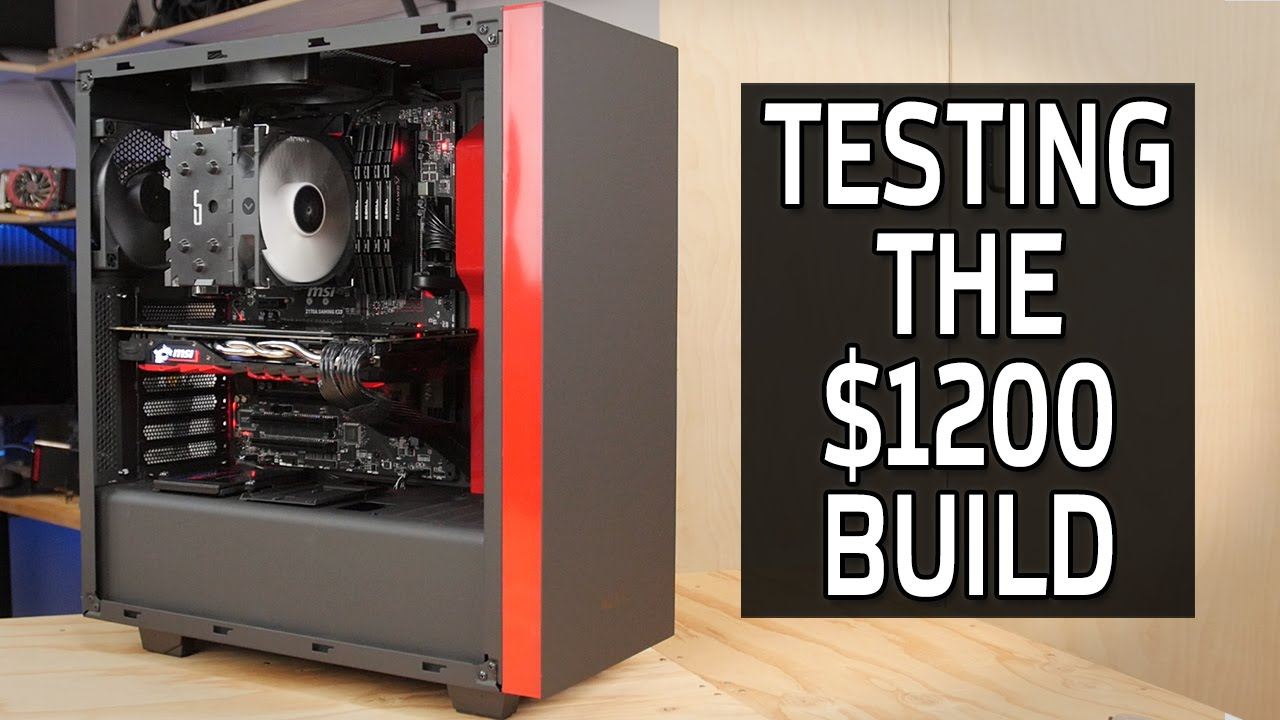 But Will It Perform? Testing the $1200 Gaming PC Build