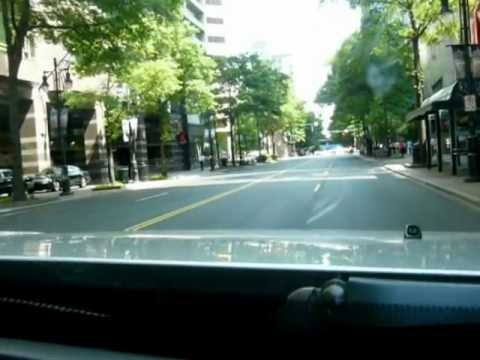 Driving Downtown Charlotte, NC - YouTube