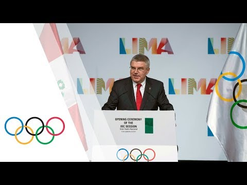 Opening Ceremony IOC Session Lima