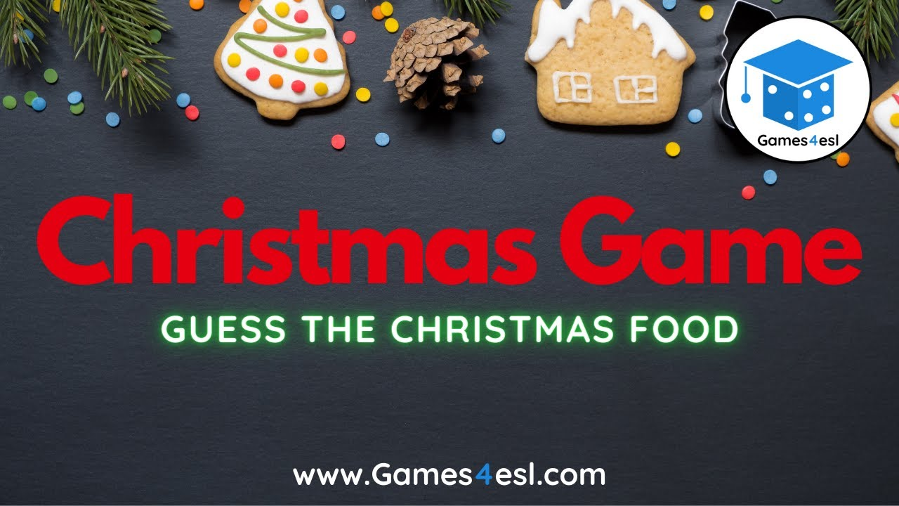 Christmas Game Guess The Christmas Food Youtube