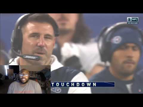 Patriots Vs Titans Wild Card Game Highlights Reaction