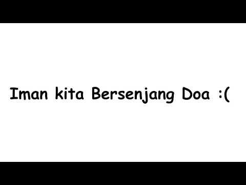 Lagu terbaper -  BERSENJANG DOA + Lirik