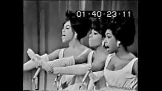 The Supremes on their first appearance on Hollywood Palace in 1965,...