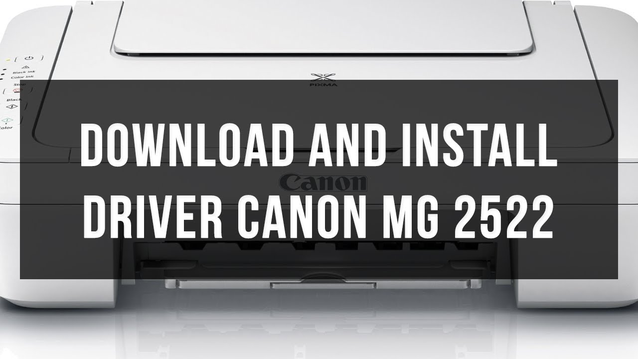 canon mg2522 drivers