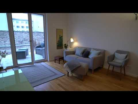 Luxury 2-Room Apartment in Berlin Neukölln with Terrace and private Garden