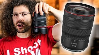 CANON RF 24-70mm f2.8L IS REVIEW |The MUST HAVE Mirrorless LENS?!