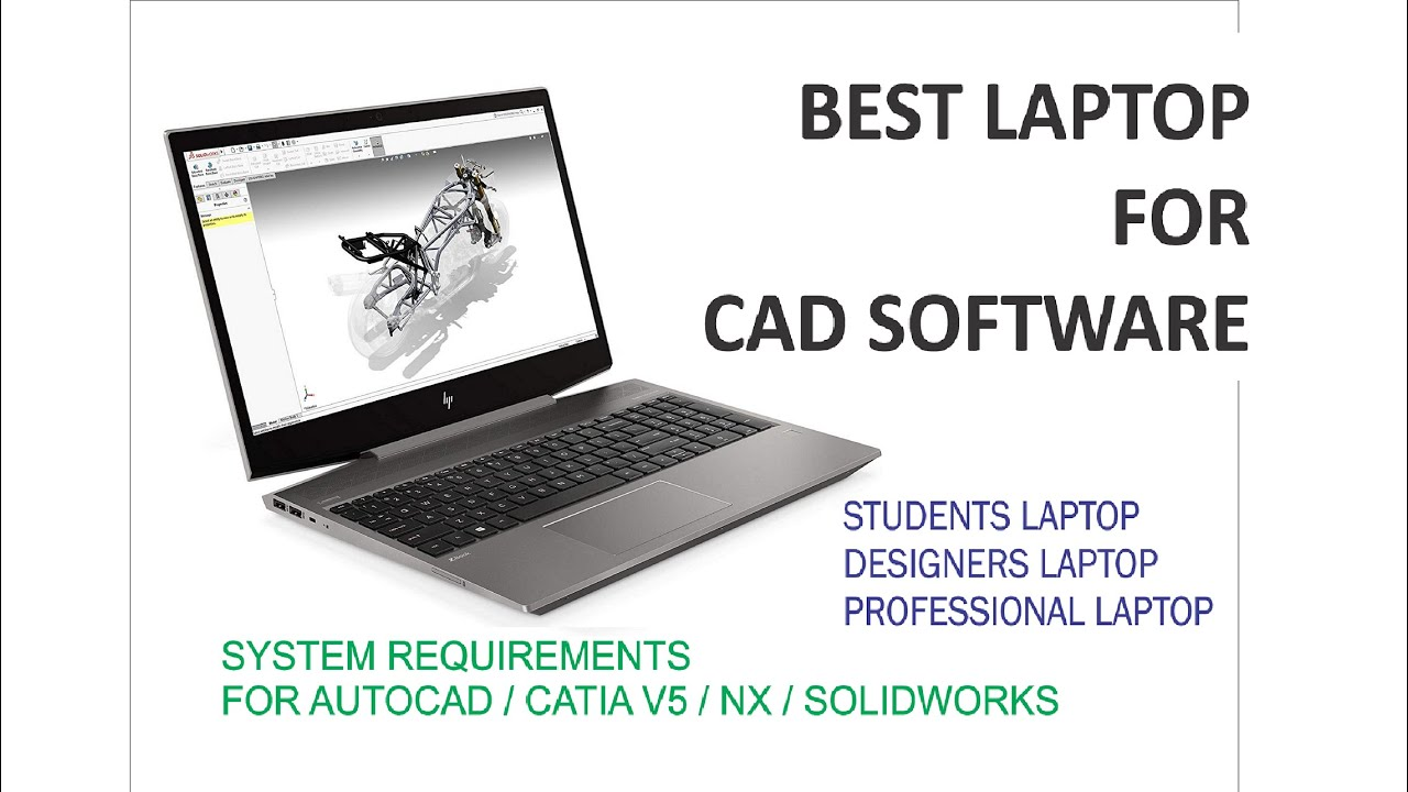 Best Laptop For Mechanical Engineering For Design Software 2019 Best Laptop For Design Engineers Youtube