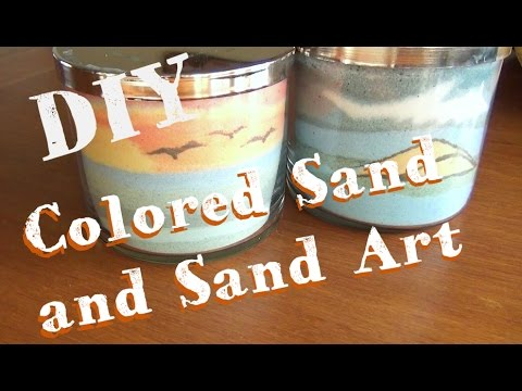 Sand art jars how to make colored sand and sand art youtube sand art jars how to make colored sand and sand art solutioingenieria Choice Image