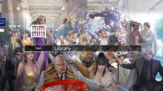 "Tekken 7 ""3 Million Super Commemorative Illustrations"" Paid PS4 Theme [JAPAN]"
