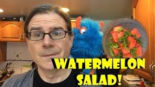 3 Ingredient Recipes: Watermelon Salad