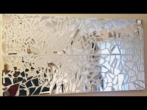 2017 EASY MOSAIC WALL ART DIY/HOME DECOR/EASY DIY/CHYMARIE BROWN