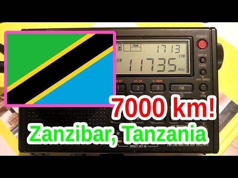 Zanzibar Broadcasting Corporation, Tanzania 11735 kHz
