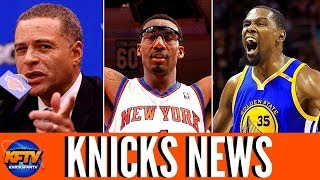 New York Knicks News: Scott Perry Gets To Work| Amare Dishes On Dolan| Vegas Bets On KD & The Knicks